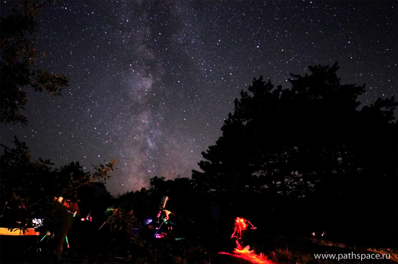 Milky Way_and_astrophotography_silantyeva_valeriya